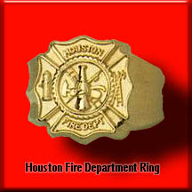 Houston Fire Depatment Ring